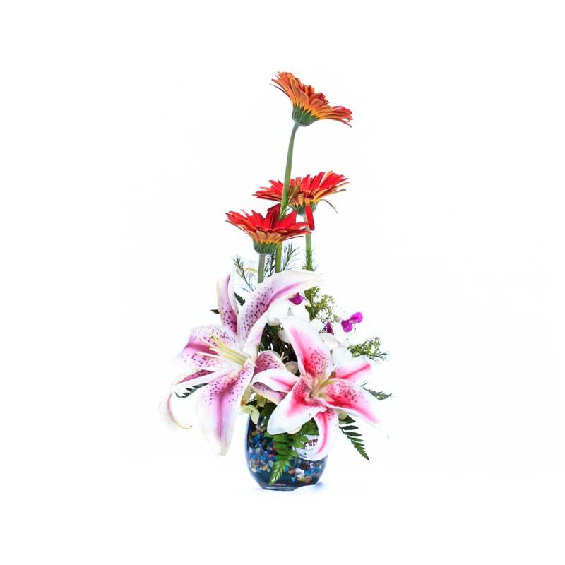 Arreglo Floral Lirios